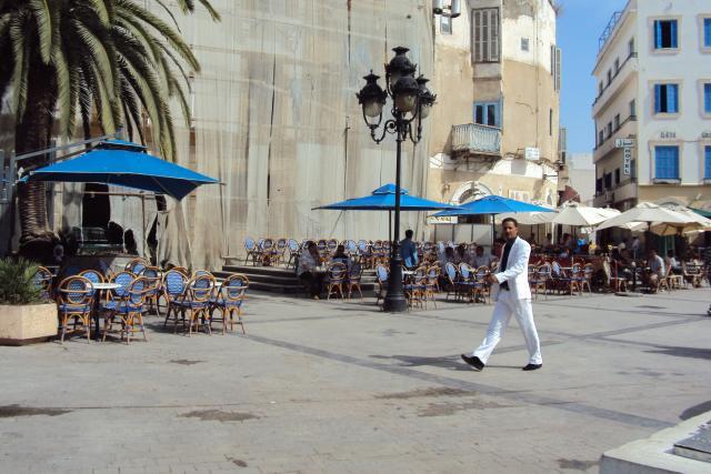 Praça em Tunes