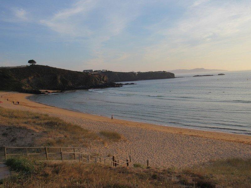 O que visitar em Sanxenxo: Praia Lanzada