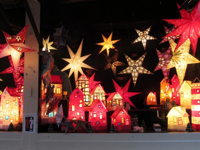 Christmas Market in Dusseldorf.