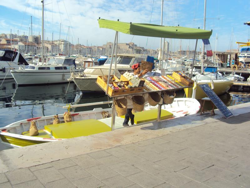 Sabonetes de Marselha.