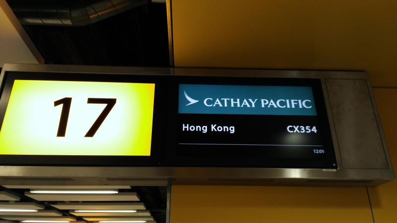 mostrador no aeroporto
