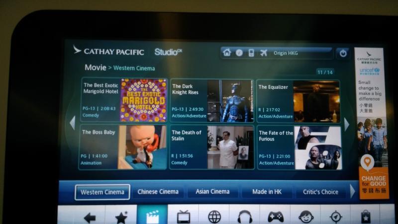 entretenimento no avião
