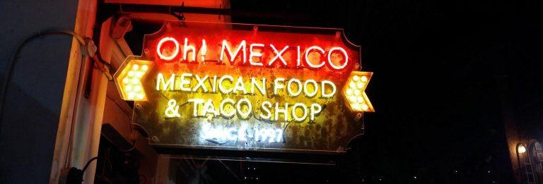 Restaurante Oh! Mexico