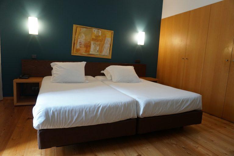 Quarto duplo do hotel Monte Prado