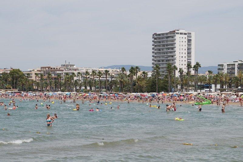 melhores praias de salou