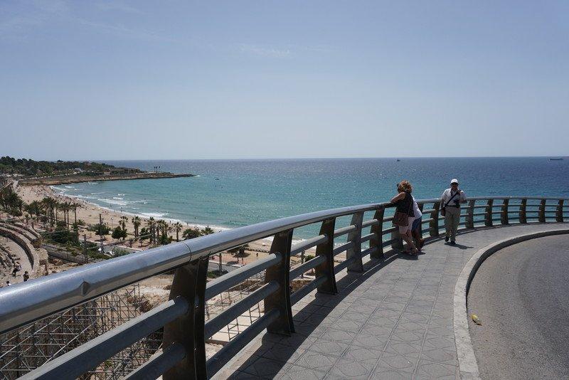 Local privilegiado com vista magnífica sobre o Mediterrâneo