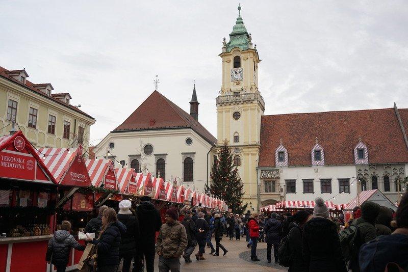 Mercado de Natal Bratislava