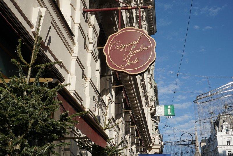 Cafés em Viena: Sacher