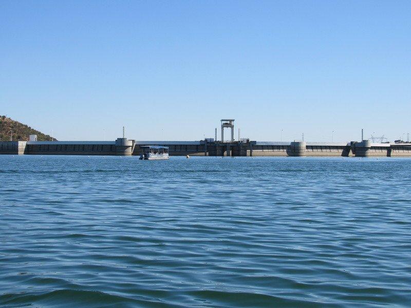 Barragem do Alqueva no Alentejo