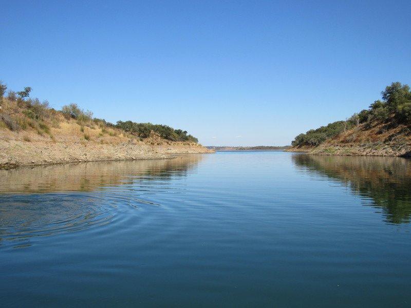 Passeios de barco no Alqueva