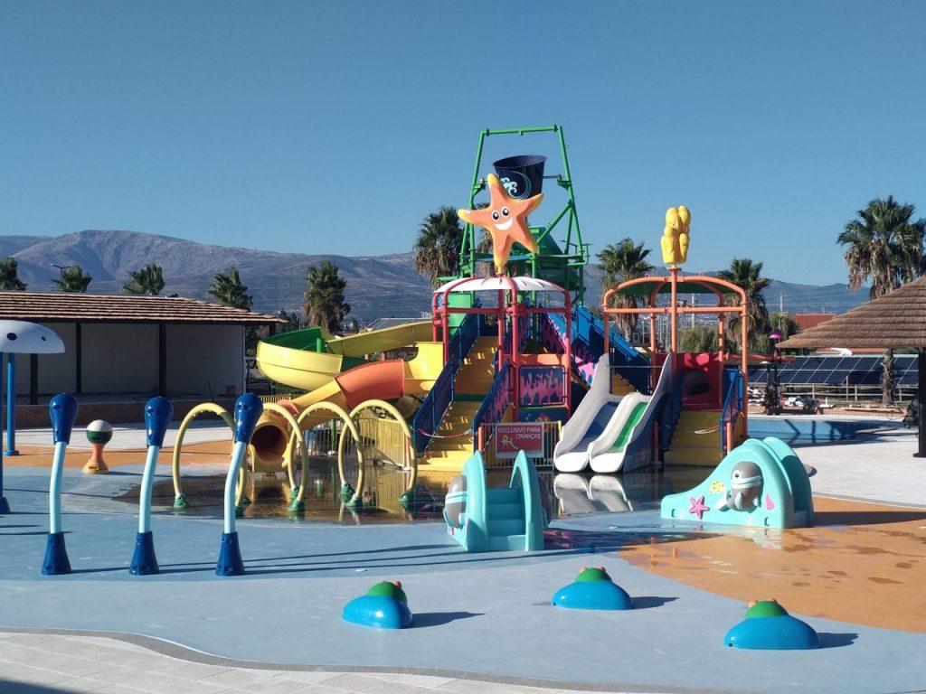 Parque infantil resort Alambique