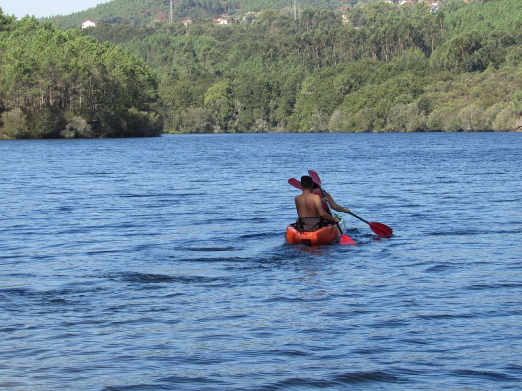 Canoagem no Rio Lima.