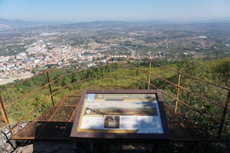 Miradouro Pedra d'Hera no Fundão, Cova da Beira.