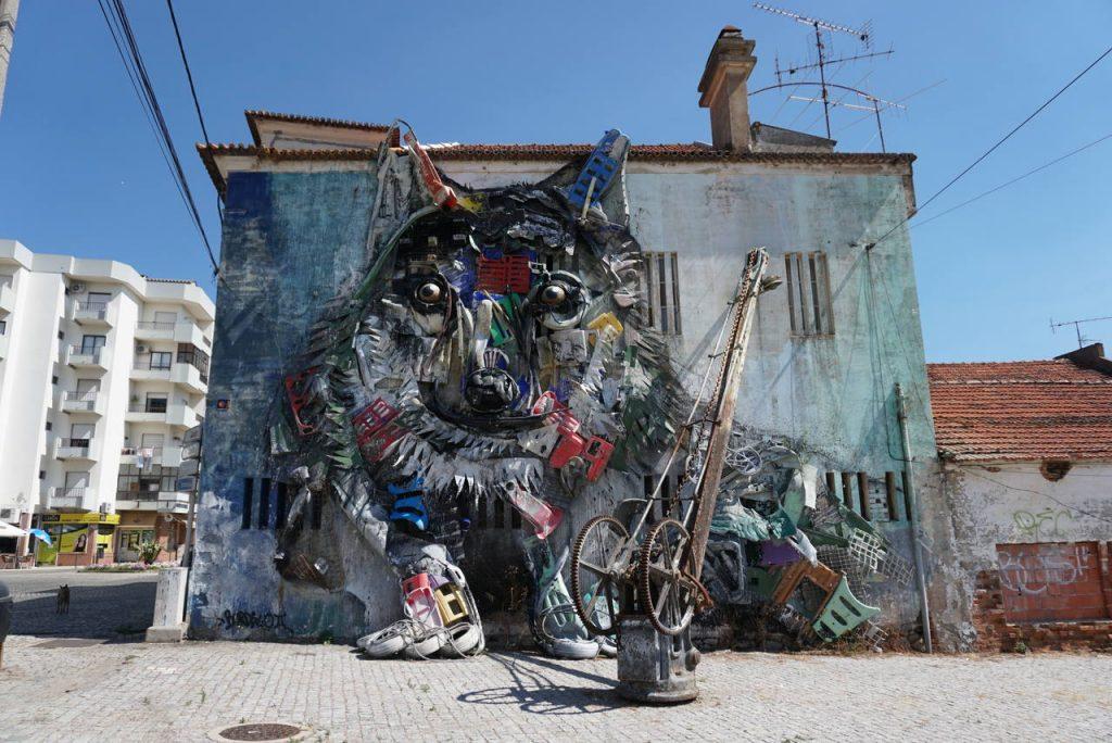Street Art no Fundão.