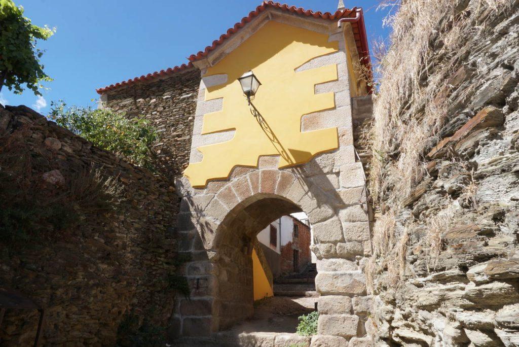 Zona histórica de Moncorvo.