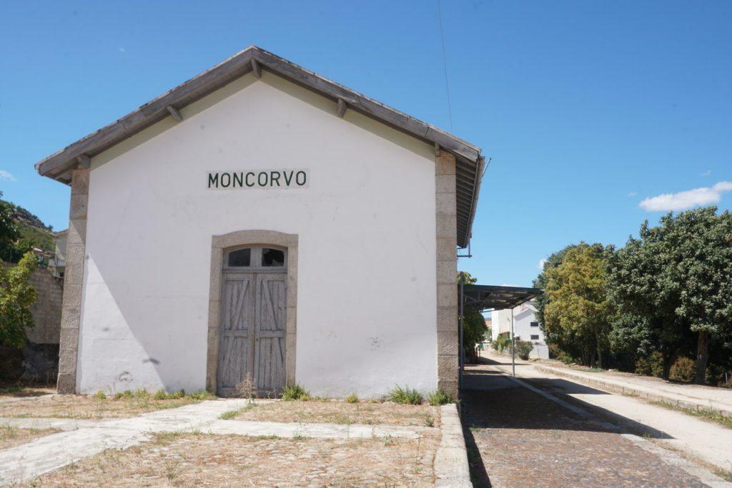 Estação Ferroviária de Torre de Moncorvo.