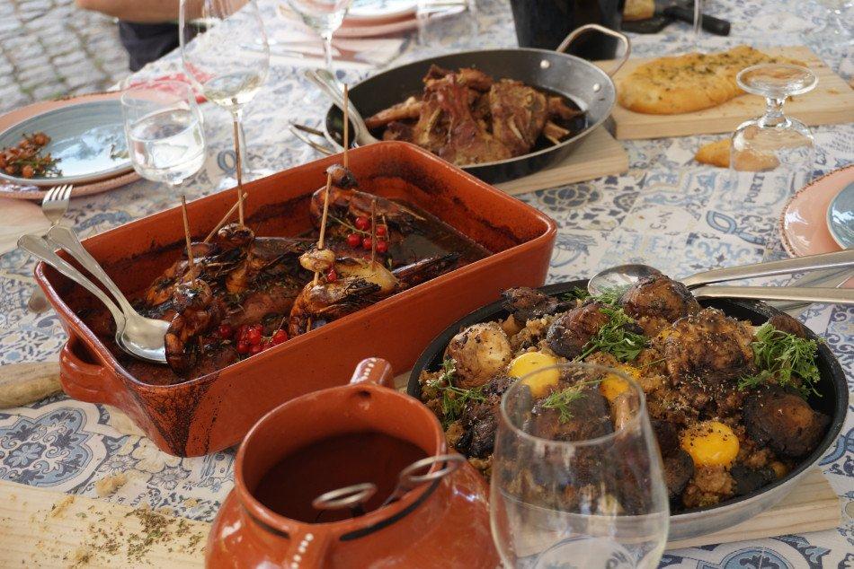 Restaurante Casa da Velha Fonte na Casa da Amoreira (Road trip na Beira Baixa).