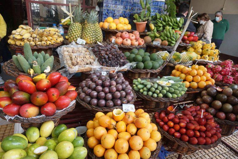 Mercado dos Lavradores no Funchal.